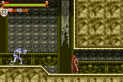 Castlevania HOD - Revenge of the Findesiecle - skeleton ape - User Screenshot